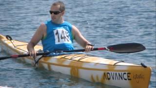 Kayak de mar en copa!