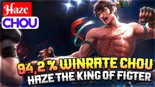94,2 % Winrate Chou, Haze The King of Fighter [ Top Global 9 Chou ] H̶aze Chou Gameplay And Build