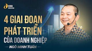 4 Giai Đoạn Của Doanh Nghiệp | Làm Doanh Nghiệp Nhất Định Phải Biết - Học viện CEO Việt Nam