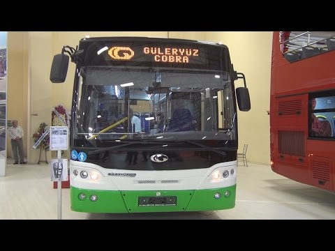 Güleryüz Cobra GM 220 LE Bus (2016) Exterior and Interior in 3D