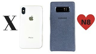 Why iPhone X made me LOVE Note 8?