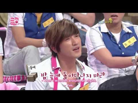 [Eng Sub] 090718 SGB 245 - Minwoo Cuts