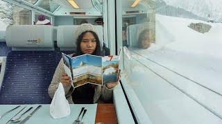 Winter Rail Travel in Europe:  7 Day Interrail / Eurail Pass
