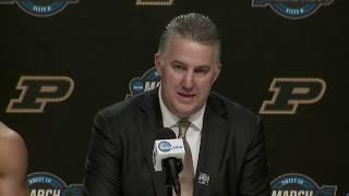 Press Conference: Virginia vs. Purdue Elite Eight Postgame