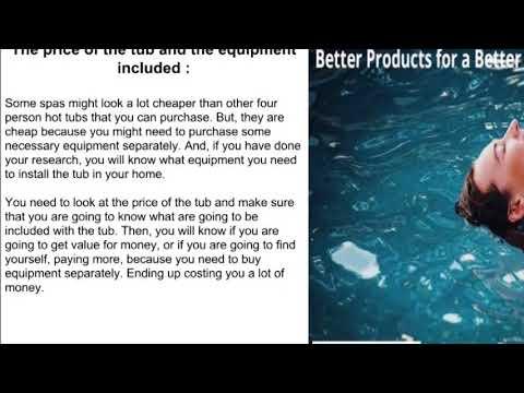 Portable hot tub spas