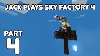 Speed Prestige! Jack plays Minecraft: Sky Factory Part 4