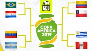 Análisis de cruces de cuartos de final de Copa América Brasil 2019