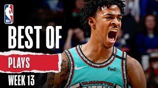 NBA's Best Plays | Week 13 | 2019-20 NBA Season