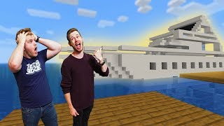 Who Can Build The Best YACHT?! | Minecraft