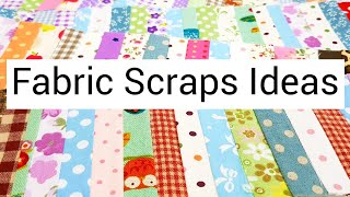 Have fabric scraps?Here's the way to use them up! |如何运用碎布?#HandyMum ❤❤