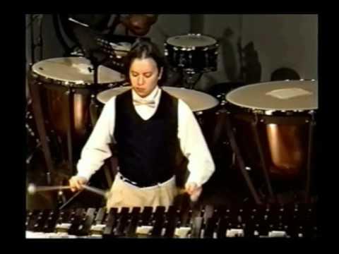 Divertimento para Marimba y Saxofón alto (2da parte) del compositor Akira Yuyama