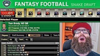ESPN Fantasy Football Draft 2017