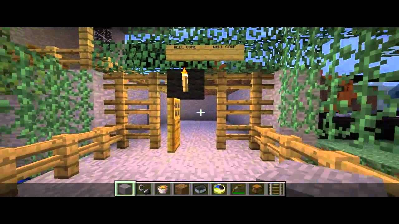 let s show minecraft bau ideen youtube. Black Bedroom Furniture Sets. Home Design Ideas