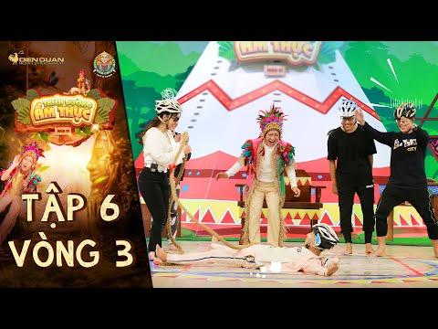 Thiên đường ẩm thực 6 | Tập 6 Vòng 3: Mr.T Hoàng Duy Hoàng Rapper giận tím người vì không được ăn
