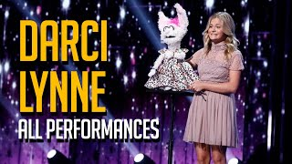 AGT Winner Darci Lynne All Performances On America's Got Talent EVER!