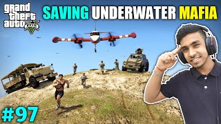 STEALING FIGHTER PLANE TO SAVE UNDERWATER MAFIA | GTA V GAMEPLAY #97