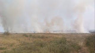 Морпіхи рятували будинки мирних жителів від пожежі