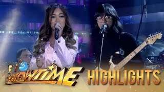 Janine and Unique in a powerful opening performance at It's Showtime stage | It's Showtime