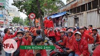 Tin nóng 24H | Hàng trăm tài xế Go-viet đình công phản đối chính sách mới