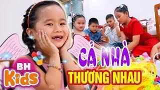 Cả Nhà Thương Nhau ♫ Nhạc Thiếu Nhi Bé MinChu ✿ Thần Đồng Âm Nhạc Nhí Việt Nam
