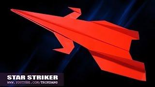 Cách gấp máy bay giấy cực dễ - Trông cực ngầu và bay được | Sao Băng
