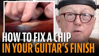 Watch the Trade Secrets Video, DIY: The Right Way To Fix Your Guitar's Lacquer Finish!