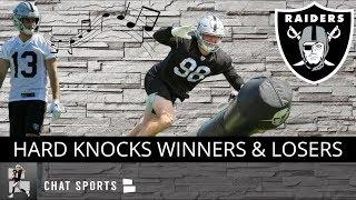 Raiders' 3 Biggest Winners & Losers Following Episode 2 Of HBO's Hard Knocks 2019