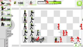 Stickman Army : The Defenders /Android Gameplay HD Part 4 (level 10)