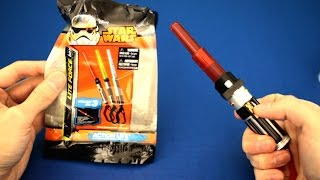 Disney Star Wars Lightsaber lite force toy with action lite
