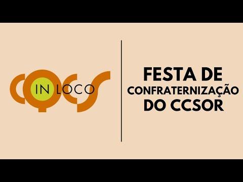 Imagem post: Festa de confraternização do CCSOR