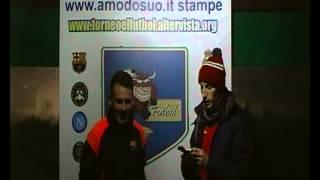 TORNEO EL FùTBOL INTERVISTA AI MIGLIORI IN CAMPO INTER-MAN UTD