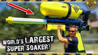 The World's SECOND Largest Super Soaker! 😂