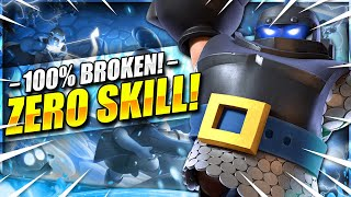 The NEW Mega Knight Deck TAKING OVER Clash Royale!! ZERO SKILL!!