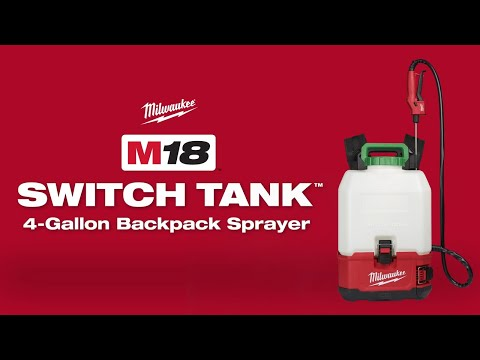 Milwaukee M18BPFP-CST 15L Switch Tank Chemical Sprayer (Tank Only)