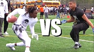 🔥🔥 Nike Football Opening Regionals | Atlanta | WR vs DB - 1v1s | 2017