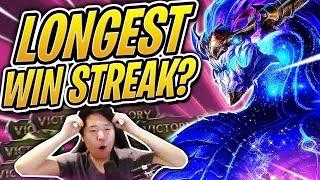 Longest TFT WINSTREAK?! | 1 Million Followers on Twitch! | Teamfight Tactics | League Auto Chess