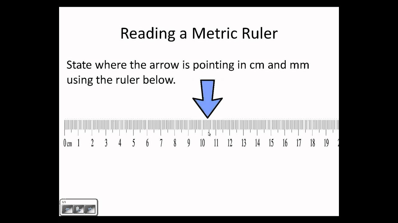 Reading A Metric Ruler Wmv Youtube