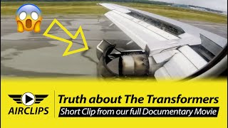 Stunning Boeing 737-200 CLASSIC JT-8 reverse thrust and Val-d'Or landing!!  [AirClips]