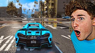 Playing GTA 5 With ULTRA REALISTIC Graphics Mods!