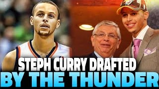 What If Stephen Curry Was Drafted by the Thunder? NBA 2K16