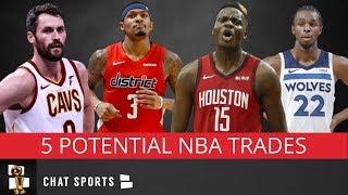 5 Big Trades That Could Shake Up 2019 NBA Free Agency