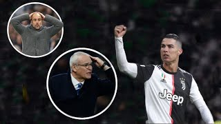 CRAZY Opponent Manager Reactions To C.Ronaldo GOALS |HD|
