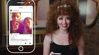 Natasha Lyonne Insta-Stalks Her Russian Doll and OITNB Castmates | ELLE
