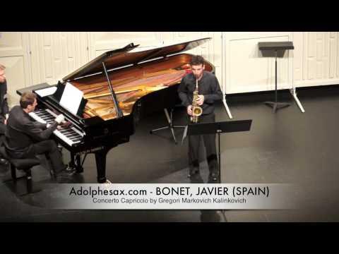 JAVIER BONET Concerto Capriccio by Gregori Markovich Kalinkovich