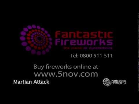 Fantastic Fireworks Martian Attack - 25 Shot Firework