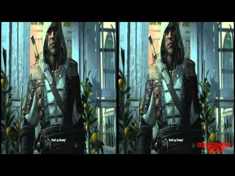 YT3D - Assassins Creed IV 3D: Black Flag Very High Settings S5M3 Walkthrough Live Stream Part 9