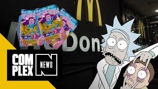 McDonald's Serves 'Rick and Morty' Fans Some More Szechuan Sauce