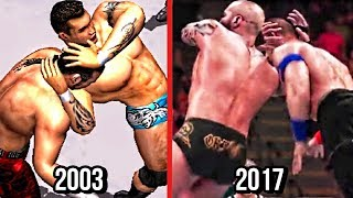 WWE 2K18 - The Evolution Of Randy Orton's RKO! ( Wrestlemania XIX To WWE 2K18 )