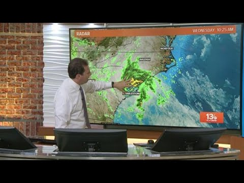 Morning Update on Tropical Storm Bertha Track on May 27, 2020