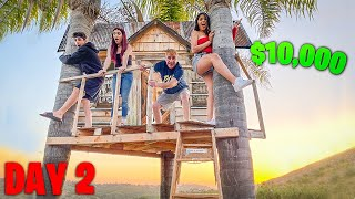 Last to LEAVE THE TREEHOUSE WINS $10,000! - Challenge